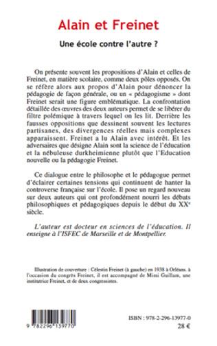 4eme Alain et Freinet