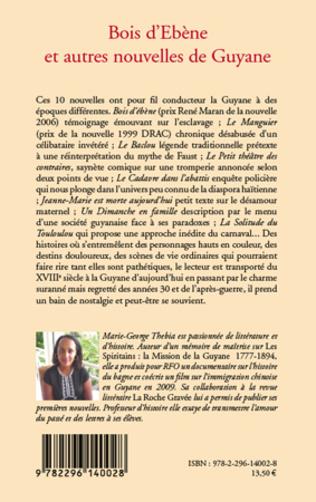 4eme Bois d'Ebène et autres nouvelles de Guyane