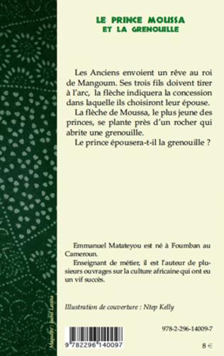 4eme Le prince Moussa et la grenouille