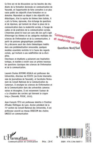 4eme Communication et modernité sociale