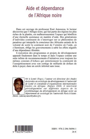 4eme Aide et dépendance de l'Afrique noire