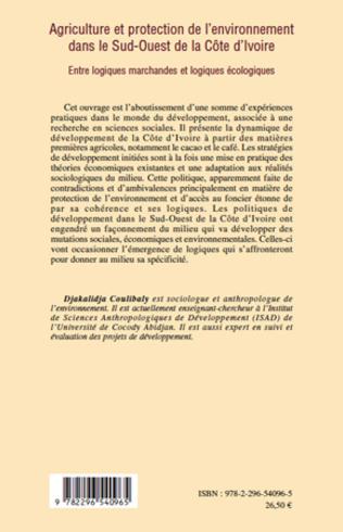 4eme Agriculture et protection de l'environnement dans le Sud-ouest de la Côte d'Ivoire