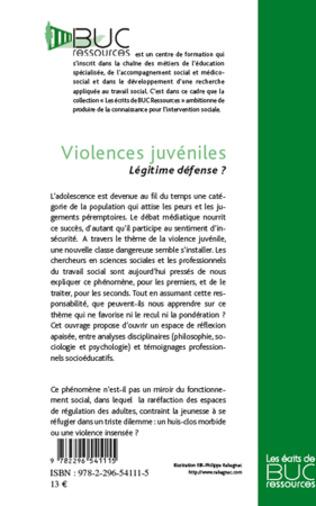 4eme Violences juvéniles