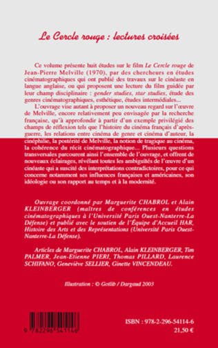 4eme Le Cercle rouge : lectures croisées