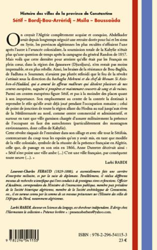4eme Histoire des villes de la province de Constantine