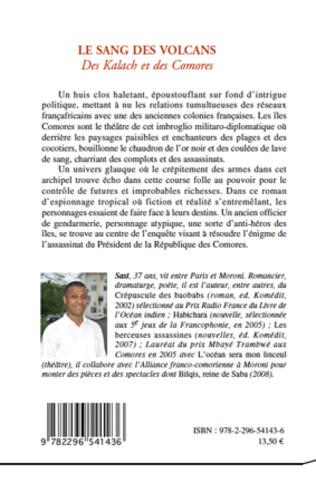 4eme SANG DES VOLCANS DES KALACH ET DES COMORES