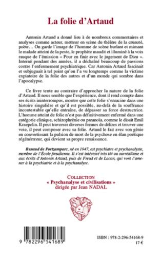 4eme La folie d'Artaud