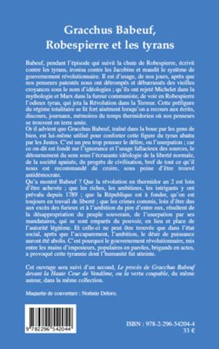 4eme Gracchus Babeuf, Robespierre et les tyrans