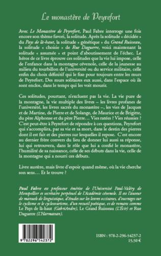 4eme Le monastère de Peyrefort