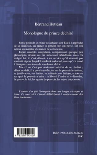 4eme Monologue du prince déchiré