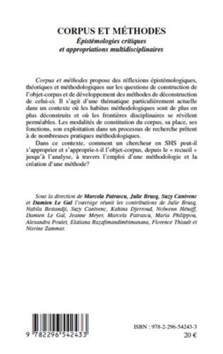 4eme Corpus et méthodes