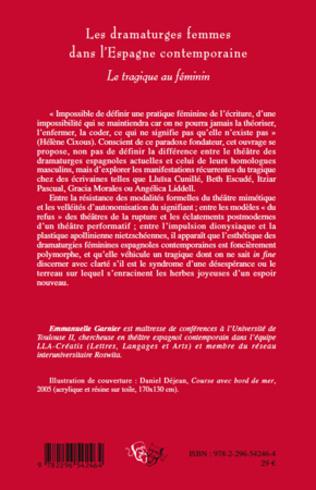 4eme Les dramaturges femmes dans l'Espagne contemporaine