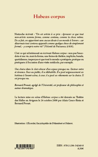4eme Habeas corpus