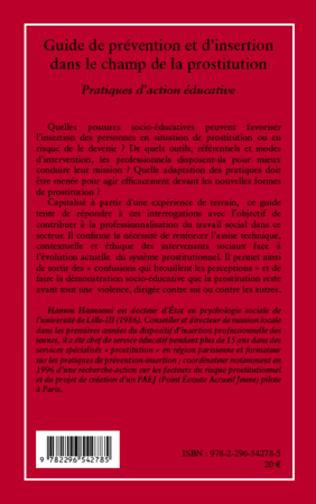 4eme Guide de prévention et d'insertion dans le champ de la prostitution