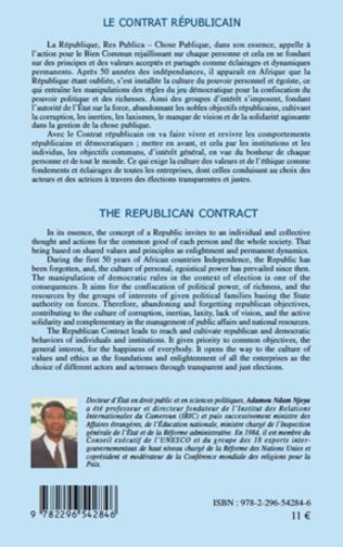 4eme Le contrat républicain