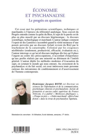 4eme Economie et psychanalyse