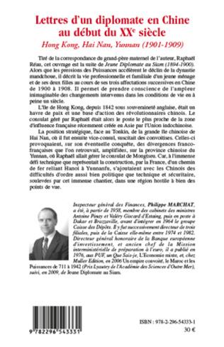 4eme Lettres d'un diplomate en Chine au début du XXe siècle