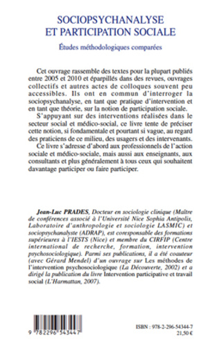 4eme Sociopsychanalyse et participation sociale