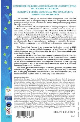 4eme Construire l'Europe, la démocratie et la société civile de l