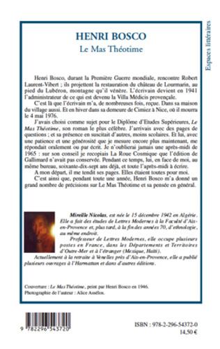 4eme Henri Bosco