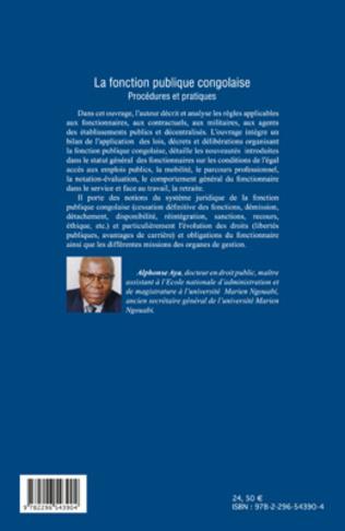 4eme La fonction publique congolaise