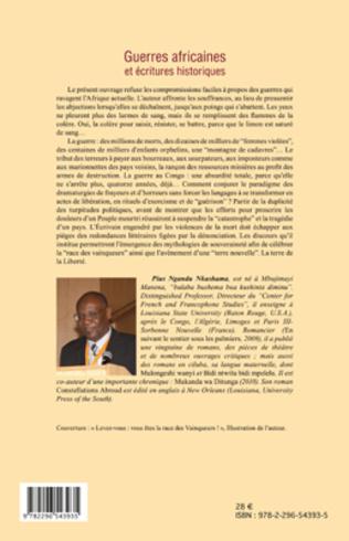 4eme Guerres africaines et écritures historiques