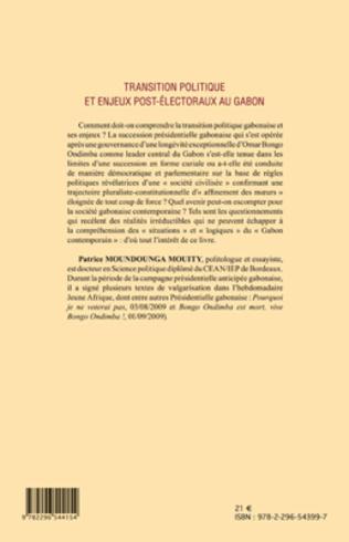 4eme Transition politique et enjeux post-électoraux au Gabon