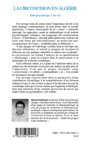 4eme La circoncision en Algérie