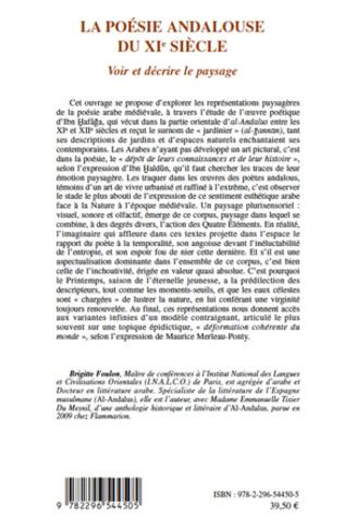 4eme La poésie andalouse du XIe siècle