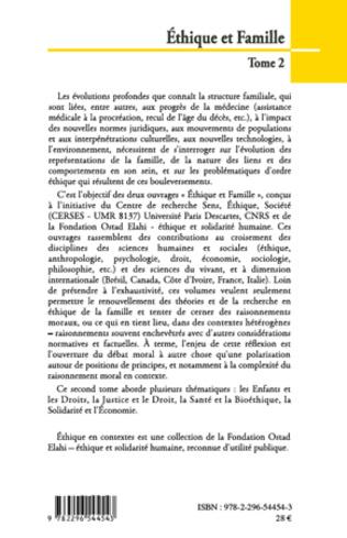 4eme Ethique et Famille (Tome 2)