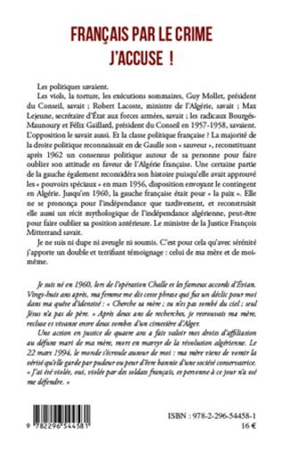 4eme Français par le crime j'accuse !