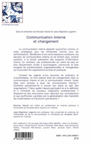 4eme Communication interne et changement