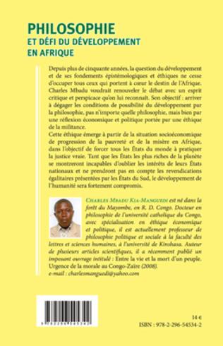 4eme Philosophie et défi du développement en Afrique