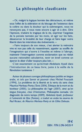 4eme La philosophie claudicante