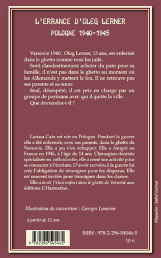 4eme L'errance d'Oleg Lerner
