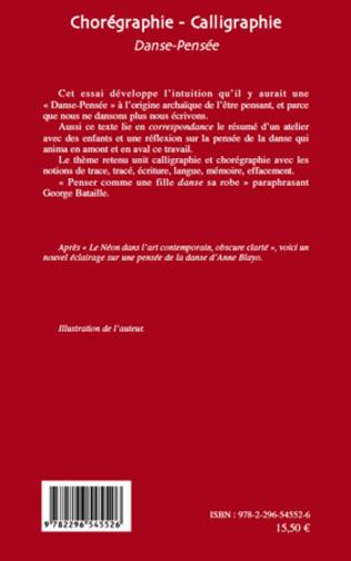 4eme Chorégraphie - Calligraphie