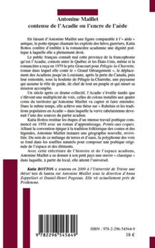 4eme Antonine Maillet conteuse de l'Acadie
