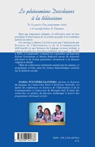 4eme LE PHENOMENE DESCHIENS A LA TELEVISION