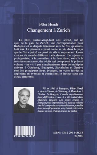 4eme CHANGEMENT A ZURICH   NOUVELLES