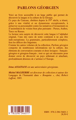 4eme Parlons géorgien (Deuxième édition augmentée)
