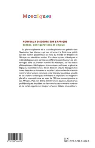 4eme Nouveaux discours sur l'Afrique