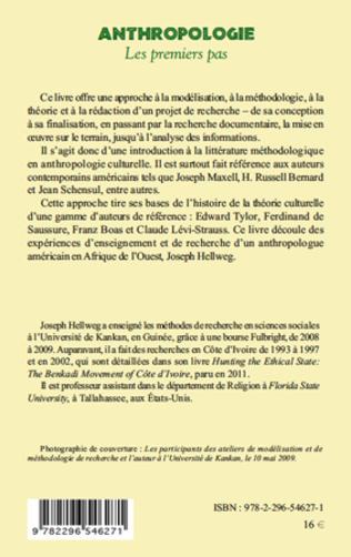 4eme Anthropologie : les premiers pas