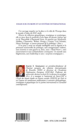 4eme Essais sur l'Europe et le système international