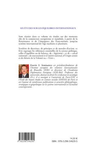 4eme Six études sur les équilibres internationaux