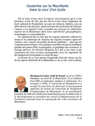 4eme Causeries sur la Mauritanie dans la cour d'un lycée