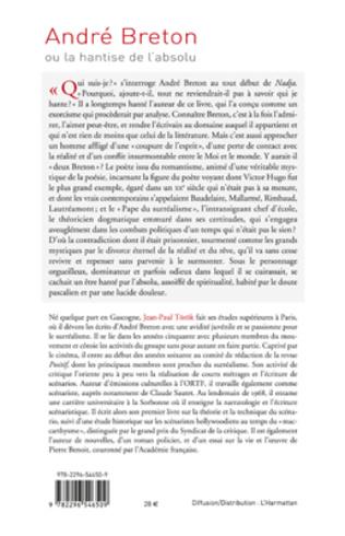 4eme André Breton ou la hantise de l'absolu