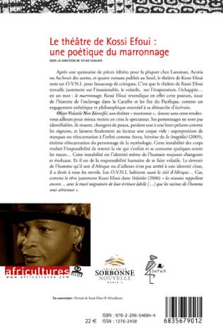 4eme Le théâtre de Kossi Efoui : une poétique du marronnage