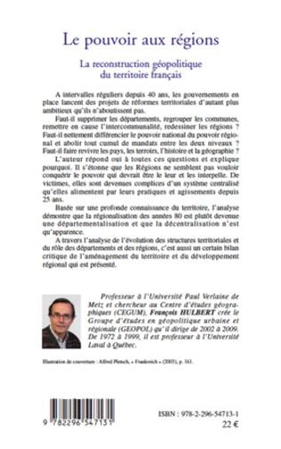 4eme Le pouvoir aux régions (nouvelle édition)