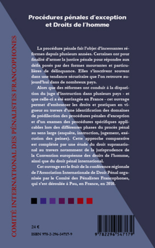 4eme Les procédures d'exception et l'enquête : le patchwork italien