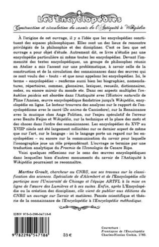 4eme Les Encyclopédies